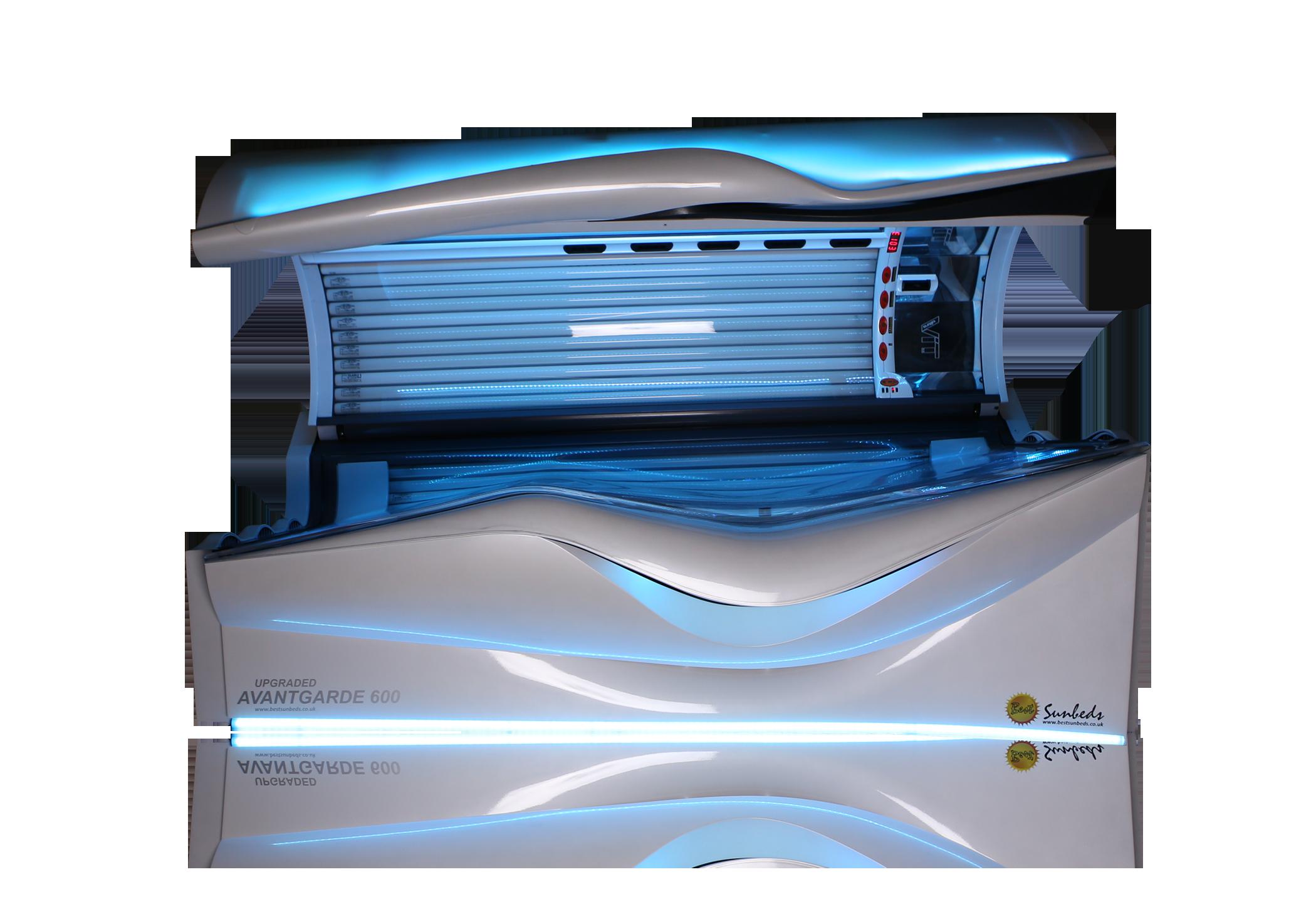 Pearl White Ergoline Avantgarde 600 Solaris Tanning And Beauty